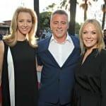 Matthew Perry, Matt LeBlanc and Lisa Kudrow reunited at TV Networks Party