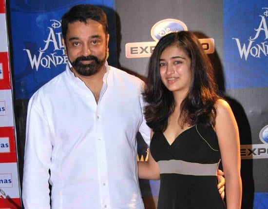 Akshara Haasan talks about her father Kamal Haasan