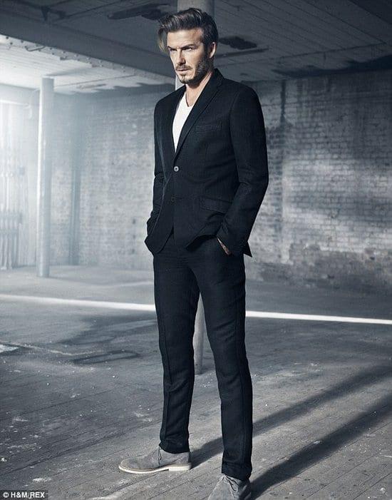 David Beckham in H&M Ads