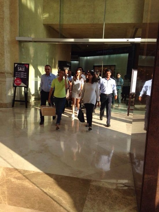 Deepika Padukone and Ranveer Singh Spotted in Bangalore