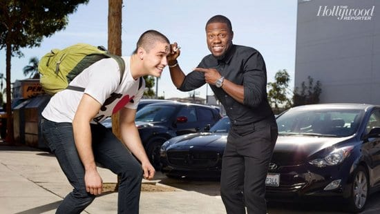 Kevin Hart on The Hollywood Reporter