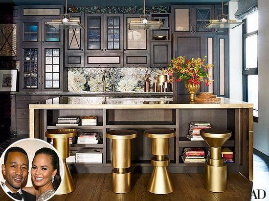 The Kitchen of John Legend and Chrissy Teigen