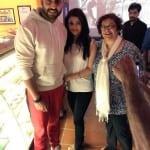 Abhishek Bachchan and Aishwarya Rai Bachchan Spotted with a Fan