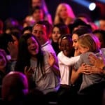 Angelina Jolie with her Daughters Shiloh and Zahara at Nickelodeon's 28th Annual Kids' Choice Awards