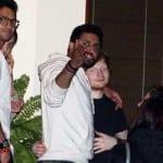 Hrithik Roshan, Gauri Khan, Shweta Bachchan, Aamir Khan, Imran Khan, Riteish Deshmukh, Genelia D'Souza and Ed Sheeran at Abhishek Bachchan's Party