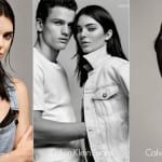 Kendall Jenner in Calvin Klein Ad Photoshoot
