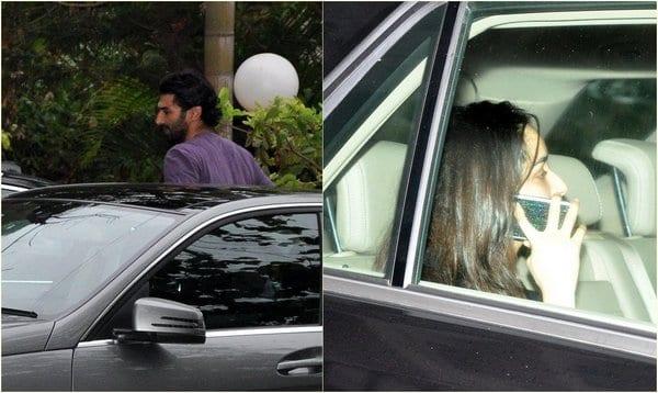 Aditya Roy Kapur and Shraddha Kapoor Spotted Together