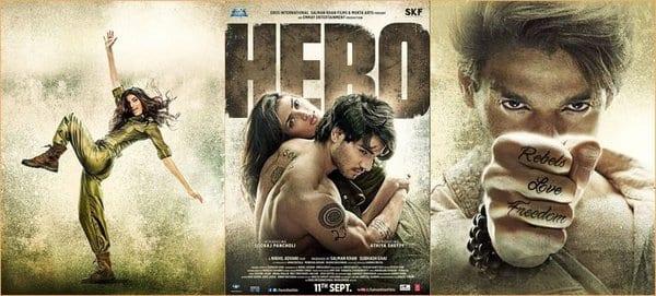 Athiya Shetty and Sooraj Pancholi in Hero