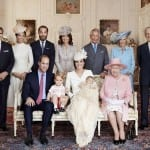 Michael Middleton, Pippa Middleton, James Middleton, Carole Middleton, Prince Charles, Prince William, Prince George, Princess Charlotte,  Kate Middleton and the Queen in an Official Photograph