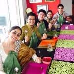 Riteish and Genelia, Tabu, Sushant, Anil, Jackie, Sonu and Sania at Farah Khan's Eid Party
