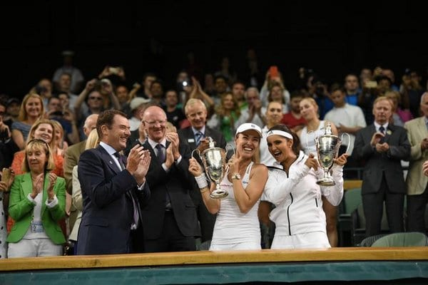 Sania Mirza is the first Indian to win a Wimbledon Title