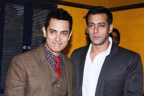 Rumour has it Salman Khan and Aamir Khan are no longer friends!