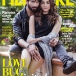 Shahid Kapoor and Alia Bhatt on Filmfare Magazine