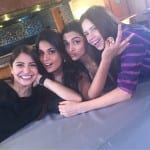 Anushka Sharma, Deepika Padukone, Richa Chadha and Kalki Koechlin Spotted Together