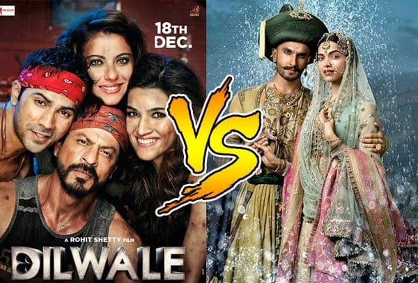 Box Office Update of Bajirao Mastani and Dilwale