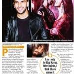 Ranveer Singh on Arjun Kapoor, Anil Kapoor and his parents watching Bajirao Mastani, Sanjay Leela Bhansali and Bajirao Mastani