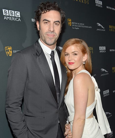 Sacha Baron Cohen and Isla Fisher Donate $1 Million to Refugees