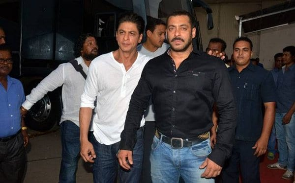 Salman Khan and Shah Rukh Khan on Bigg Boss to promote Dilwale