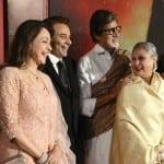 Amitabh Bachchan, Jaya Bachchan, Dharmendra and Hema Malini at the Launch of a Music Album