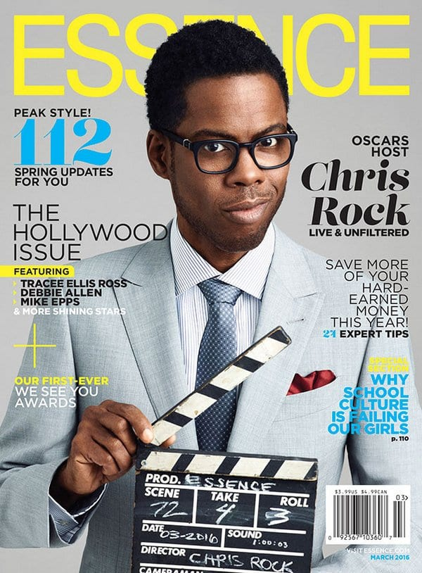 Chris Rock on Essence Magazine talks about Black Women in Hollywood