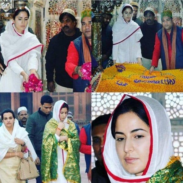 Katrina Kaif Spotted at Ajmer Dargah