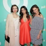Katie Holmes, Maggie Gyllenhaal and Camila Alves at the Target Pillowfort Launch Party