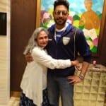 Abhishek Bachchan shares a picture of Jaya Bachchan on her birthday