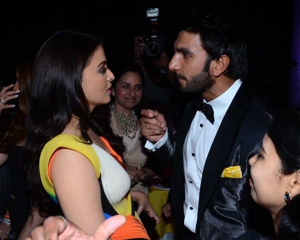 Aishwarya Rai Bachchan Spotted with Ranveer Singh and Sidharth Malhotra