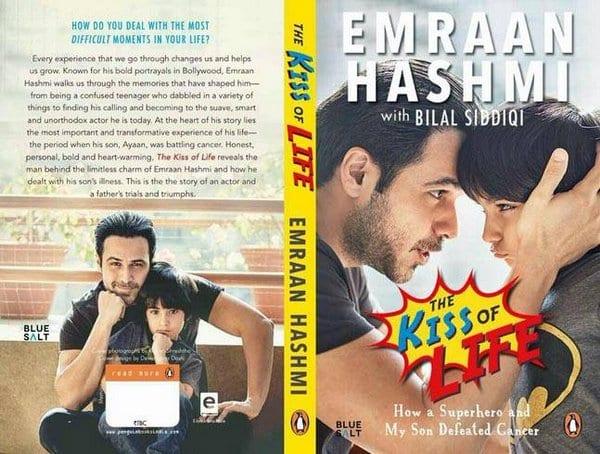 Emraan Hashmi Presents his Book to his son, Ayaan Hashmi