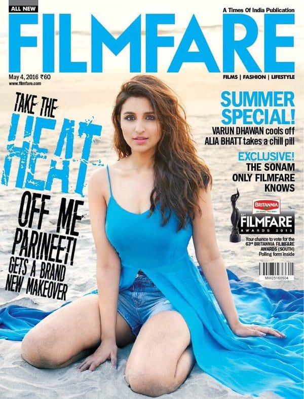 Parineeti Chopra on Filmfare Magazine