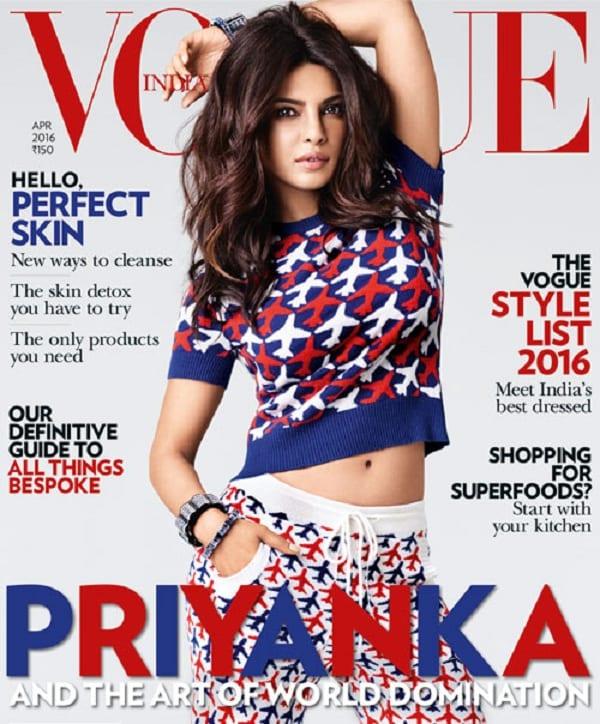 Priyanka Chopra on Vogue Magazine