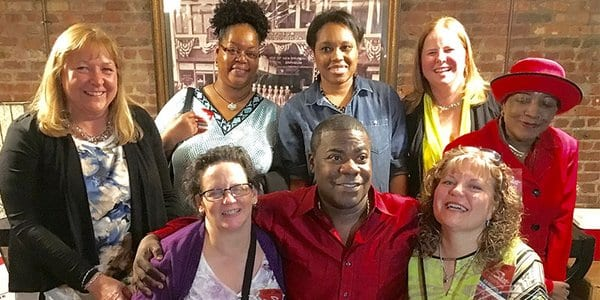 Tracy Morgan Performed in honour of the Medical Staff, who saved him