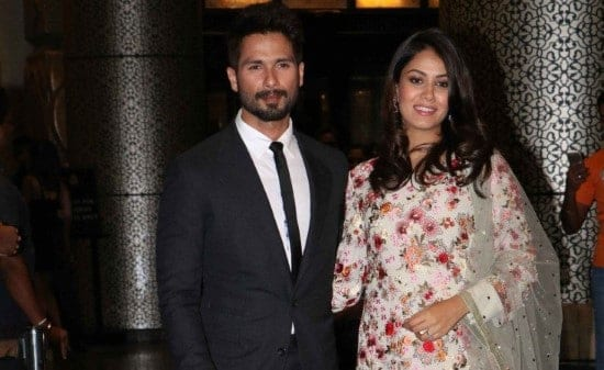 Shahid Kapoor and Mira Rajput become parents to a baby girl