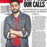 When the going gets tough, Abhishek Bachchan gets emotional