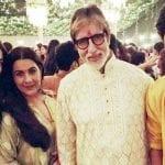 Amrita Singh, Sara Ali Khan, Ibrahim Ali Khan and Amitabh Bachchan at Bachchans Diwali Party