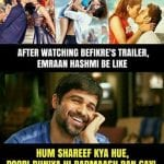 Joke of the Day: Emraan Hashmi's Reaction to Ranveer Singh's Befikre