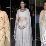 Katrina Kaif, Sonam Kapoor and Sonakshi Sinha at the Bachchans' Diwali Party