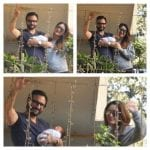 Kareena Kapoor and Saif Ali Khan introduces their son Taimur to the media