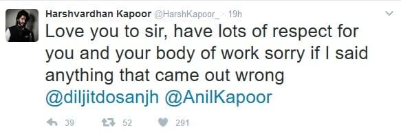 Anil Kapoor makes Harshvardhan Kapoor apologise to Diljit Dosanjh