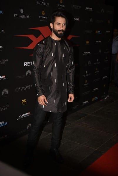 Irrfan Khan, Deepika Padukone, Ranveer Singh, Shahid Kapoor, Karan Johar & Kriti Sanon at xXx Premiere in India
