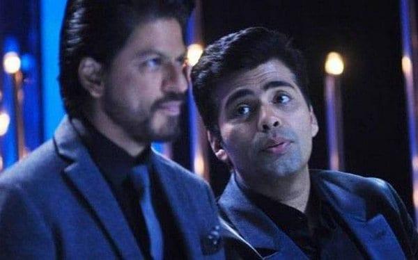 Karan Johar really had a fallout with Shah Rukh Khan