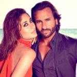 Saif Ali Khan imitates Kareena Kapoor in his first interview after Taimur is born