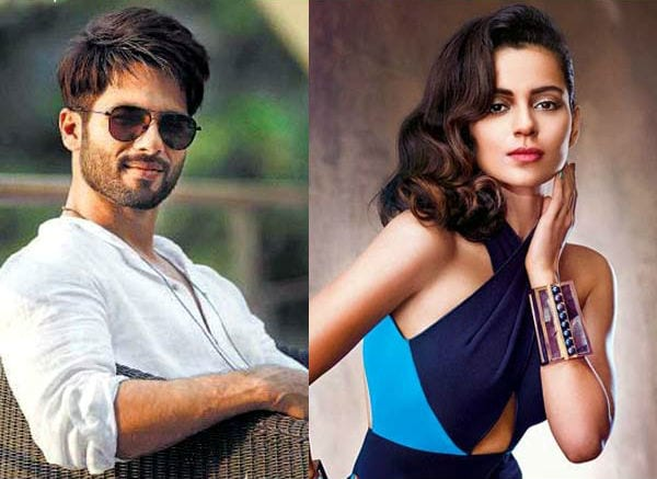 Shahid Kapoor wants you to know he's not fighting with Kangana Ranaut