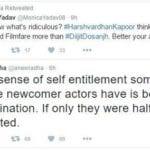 Words of War: Harshvardhan Kapoor & Filmfare