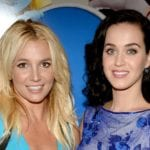 Katy Perry makes fun of Britney Spears at the Grammy Awards 2017