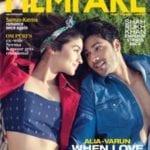 Varun Dhawan and Alia Bhatt on Filmfare Magazine