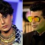 Kangana Ranaut gives it nicely back to Karan Johar