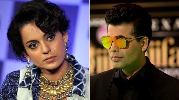 Kangana Ranaut gives it back to Karan Johar