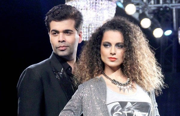 Karan Johar is still mad at Kangana Ranaut, snaps at her again