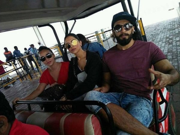 Ranveer Singh and Deepika Padukone are finally spotted together